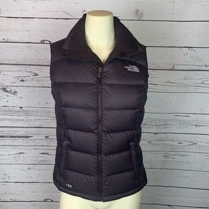 The North Face Plum 700 Vest Like New!